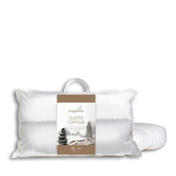 Snuggle Down Cluster Contour Pillow, Only £15.00!