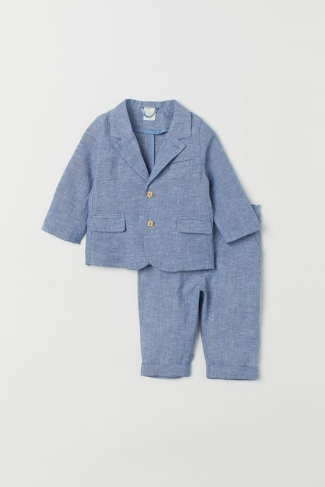 Cheap Baby and Toddler Linen-Blend Suit at H&M - Only £20!