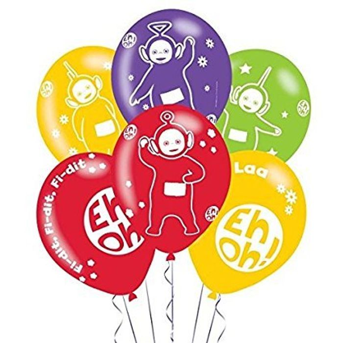 Teletubbies Latex Balloons at Amazon - Only £2.91!
