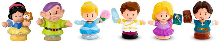 Fisher Price Little People Disney Princess - 3 Pack