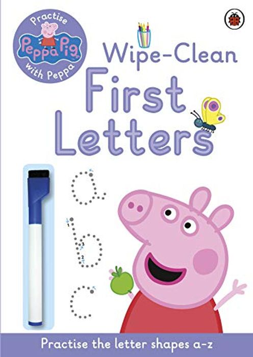 Peppa Pig First Letters Wipe Clean Activity Book
