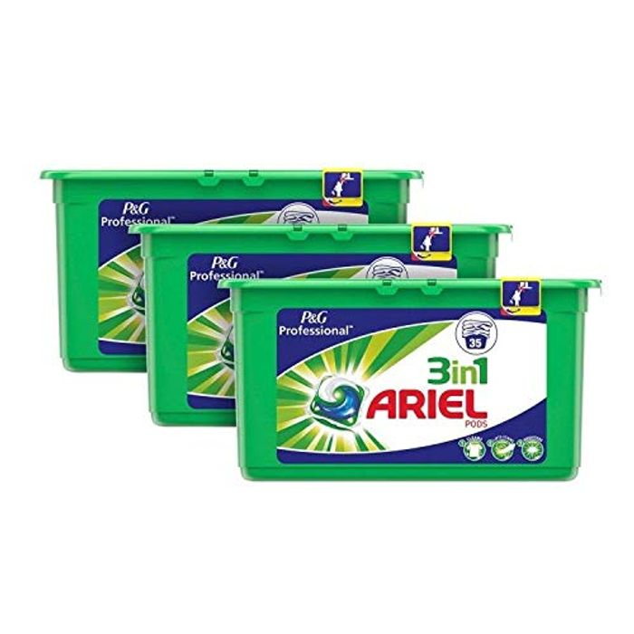 Ariel 3-in-1 Pods at Amazon - Only £17.39!