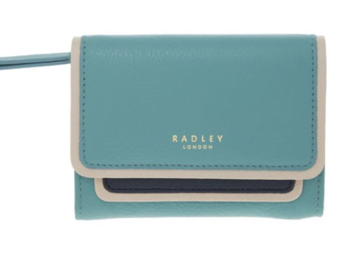 Radley Teal Selby Street Wallet Down From £59 to £24