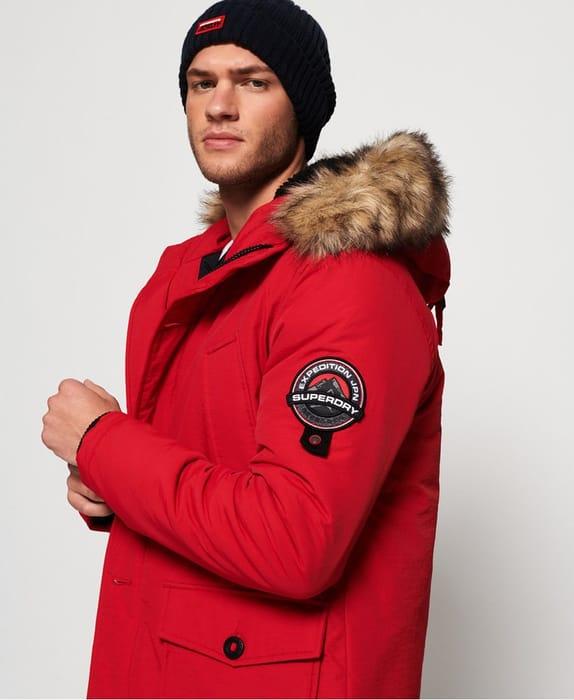 Superdry Everest Parka Jacket - Half Price!