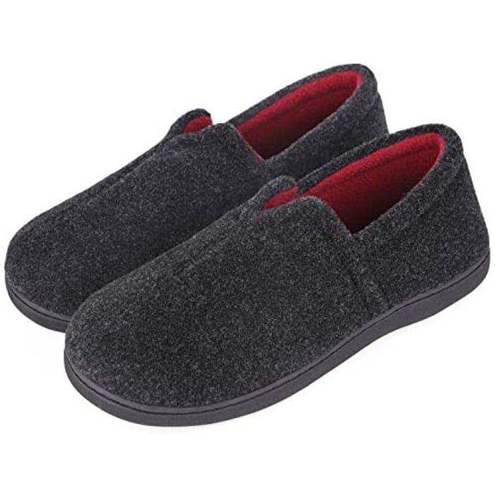 Comfort Felt Memory Foam Slippers - save 60%