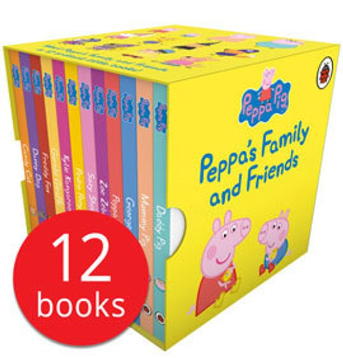 Peppa's Family and Friends Collectoon (12 Board Books)