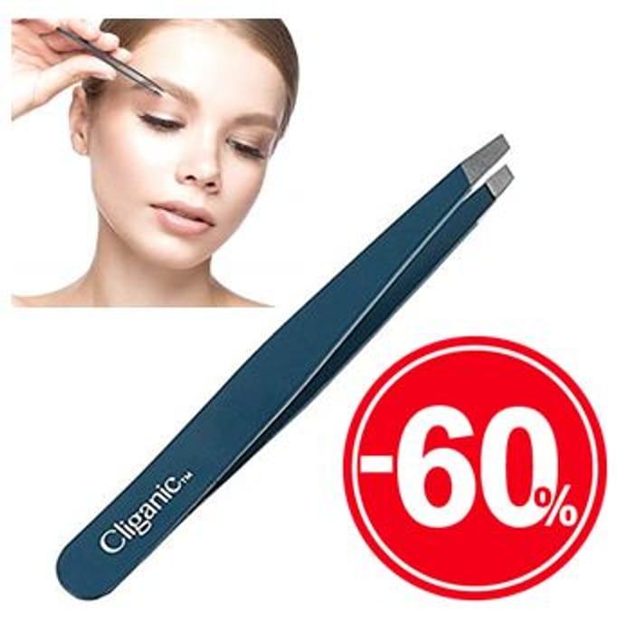 Best Price! Cliganic Professional Eyebrow Tweezers at Amazon