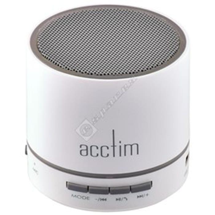 Acctim Tempo Wireless Bluetooth Speaker - White
