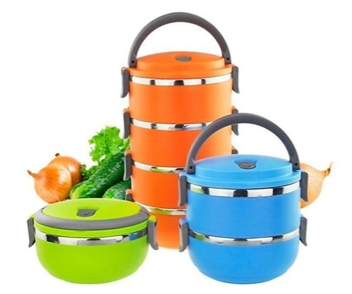 Portable Insulated Food Containers + EXTRA 10% Off