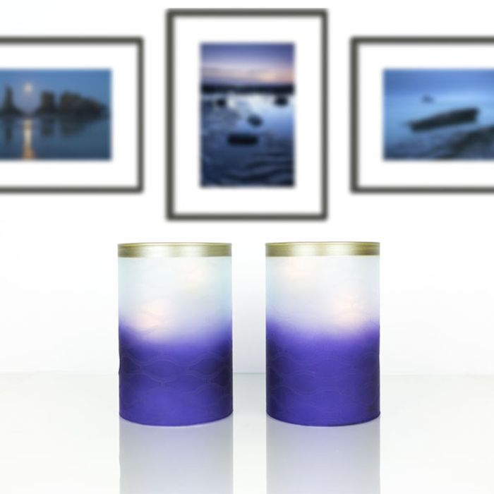Best Price! 2 X Yankee Candle Twilight Dusk Multi Tea Light Candle Holders