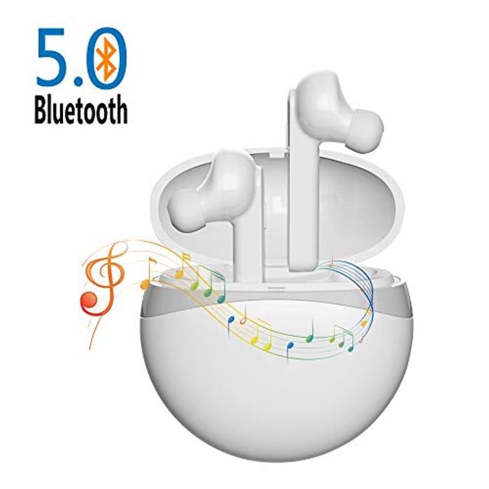 Wireless Bluetooth Earbuds 5.0 + Extra 5% Voucher!