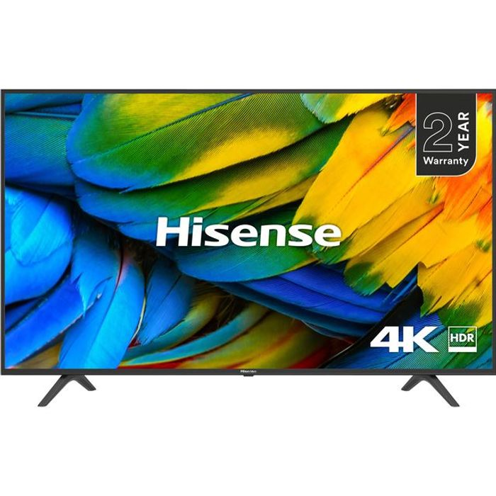 """*SAVE £201* Hisense 65"""" Smart 4K Ultra HD TV with HDR10 and DTS Studio Sound"""