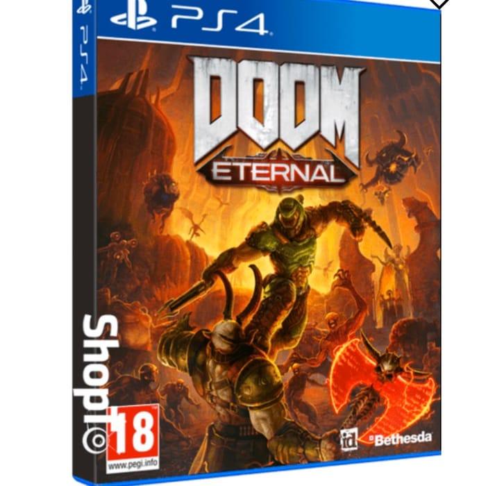 DOOM Eternal PS4 Preorder + DOOM 64 : £39.85
