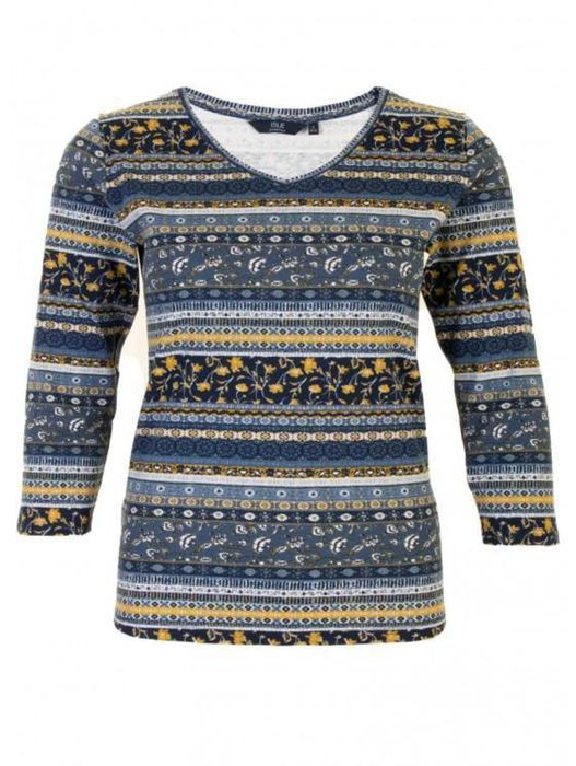 3/4 Sleeve Top Size Medium at The Edinburgh Woollen Mil