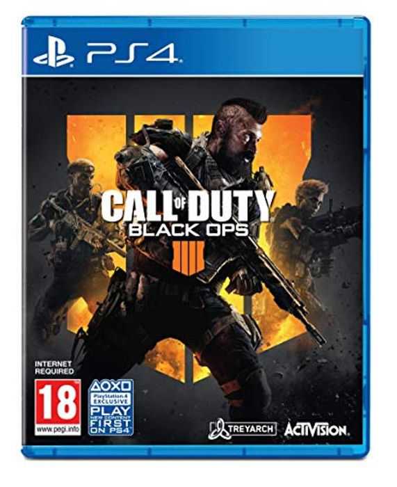 Call of Duty: Black Ops 4 (Exclusive to Amazon.co.uk) (PS4)
