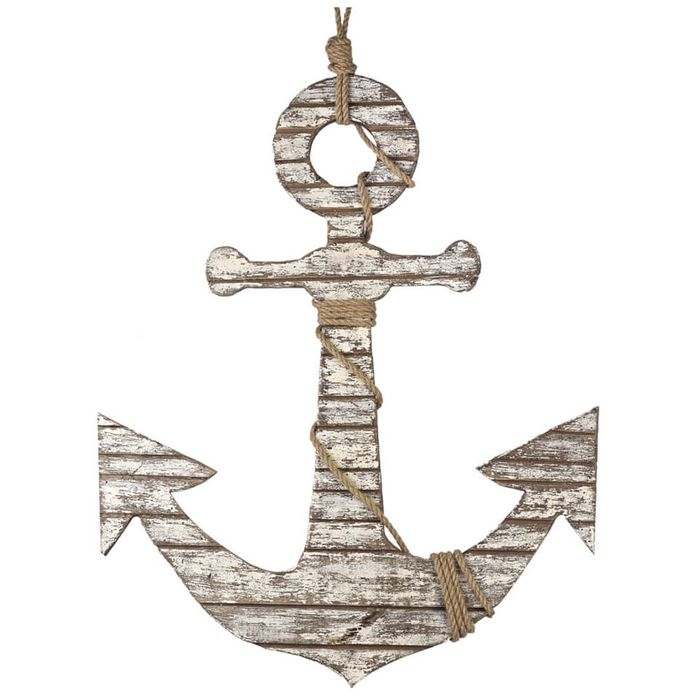 Parlane Distressed Anchor with Rope
