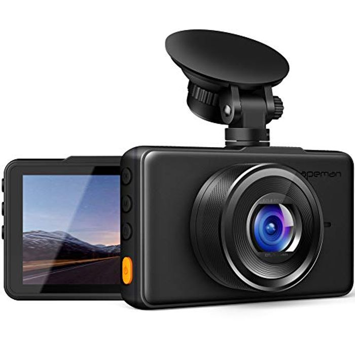 APEMAN Dash Cam 1080P for Cars, Full HD Car Camera
