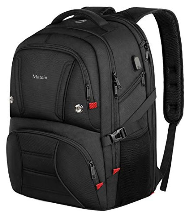 Travel Backpack, Extra Large 17.3 Inch Heavy Duty Laptop Computer Rucksack