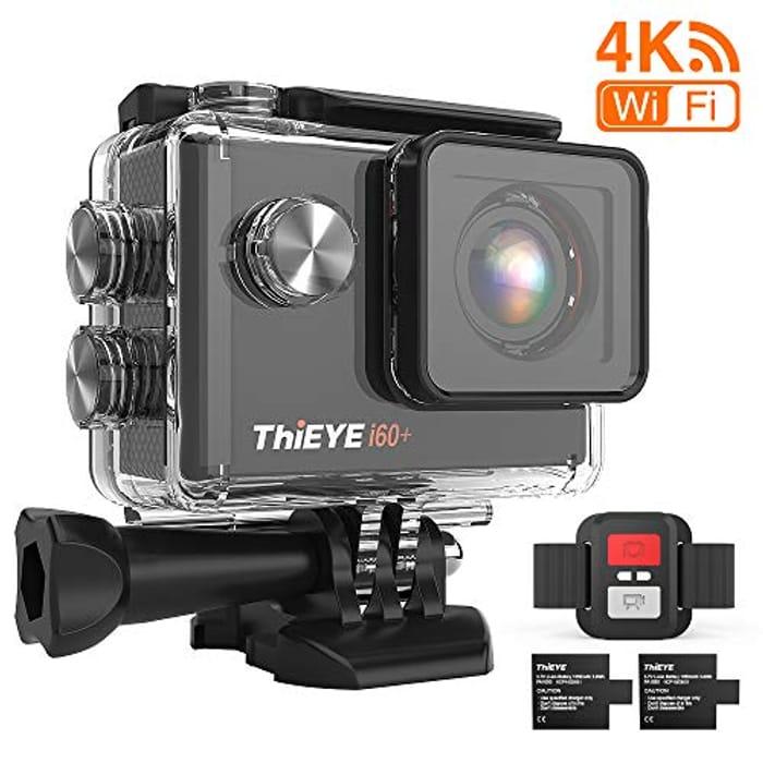 ThiEYE 4K 20MP WiFi Action Camera Full HD Waterproof