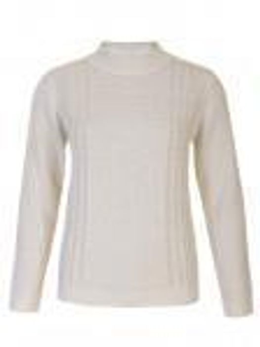 Turtle Neck Cable Knit Jumper - Only Medium Size Still Available