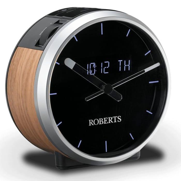 Roberts ORTUS TIME DAB/DAB+/FM Clock Radio RDS Large Clock Face
