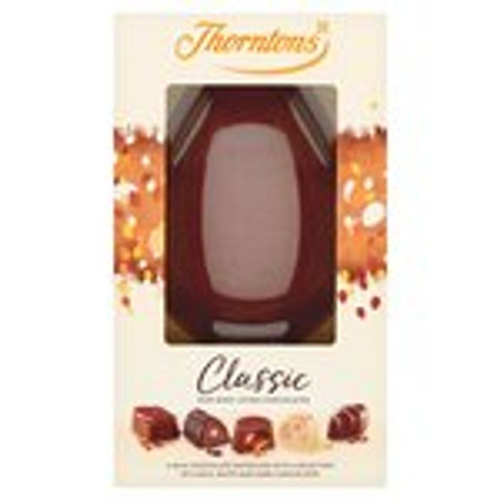 Various Thorntons Easter Eggs 1/2 Price