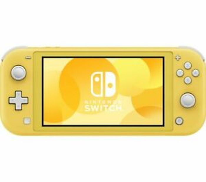 NINTENDO Switch Lite - Yellow - Currys - Only £160.55