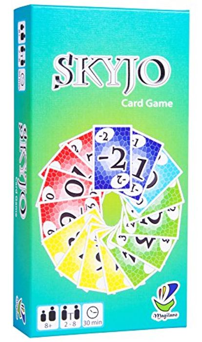 SKYJO, by Magilano - the Entertaining Card Game for Kids and Adults