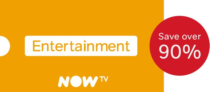 NOW TV Entertainment Pass Just £1 for 2 Months (Worth £17.98)