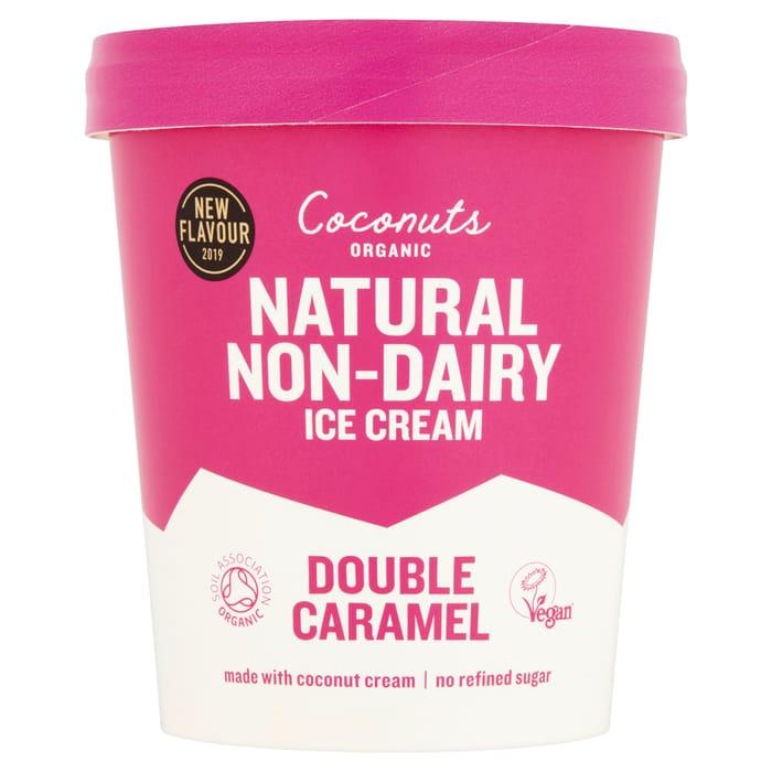 Save a Third on Coconuts Organic Caramel Vegan Ice Cream at Tesco