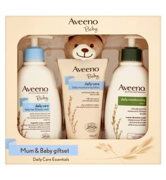 Aveeno Baby Mum & Baby Giftset - Save £5