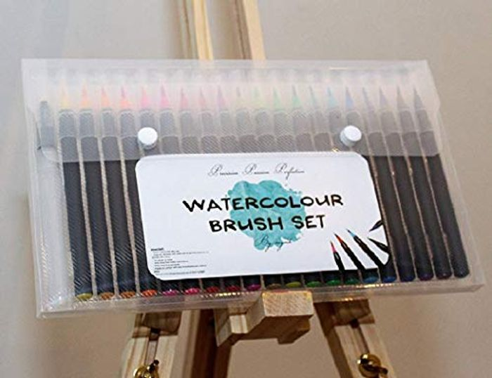 75% Off 20 Watercolour Brush Pens Set
