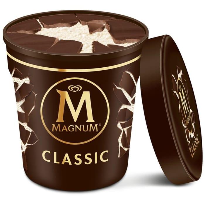 Magnum Classic Ice Cream Tub 440ml
