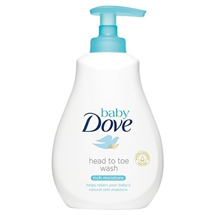 Dove Baby Head to Toe Rich Moisture Wash, 200 Ml