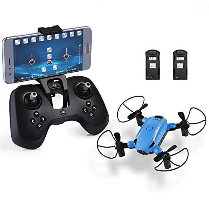 Foldable Drone with Camera Hd, X1 Wifi 2.4ghz 6-Axis