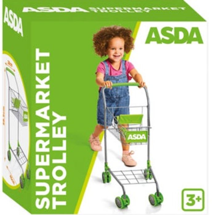ASDA Toy Supermarket Trolley (Age 3+ Years)