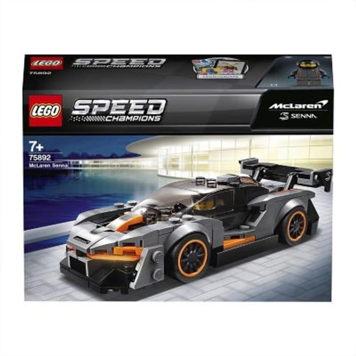 LEGO Speed Champions McLaren Senna (Age 7+ Years)