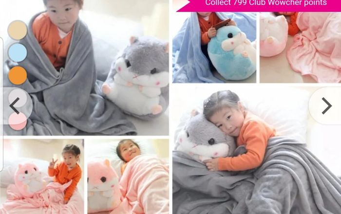 Get a Large Hamster Soft Toy