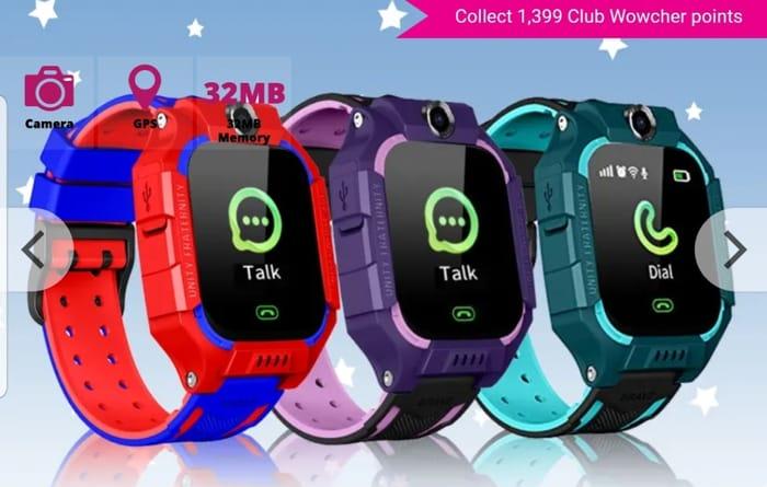 Special Offer - Get a Kids Q19 Touch Screen Smart Watch
