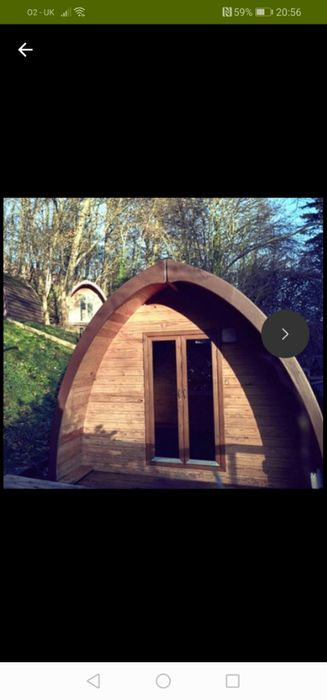 1 or 2 Night Glamping Pod Stay for 2 Code WELCOME