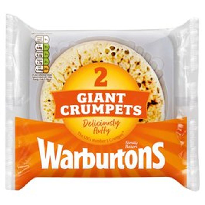 Warburton's Giant Crumpets Only 50p at Morrisons