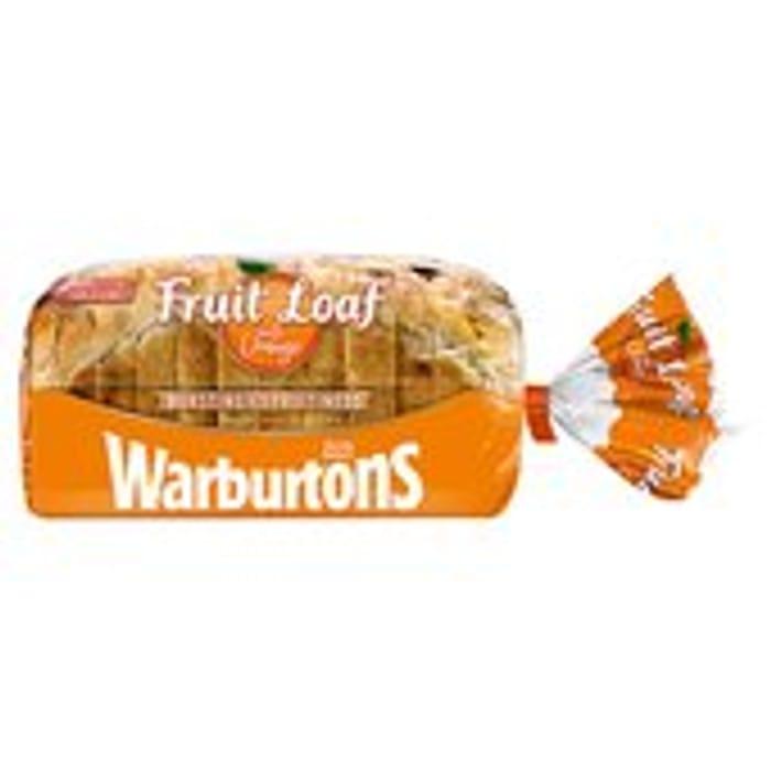 Only £1 Warburton's Orange Fruit Loaf at Morrisons