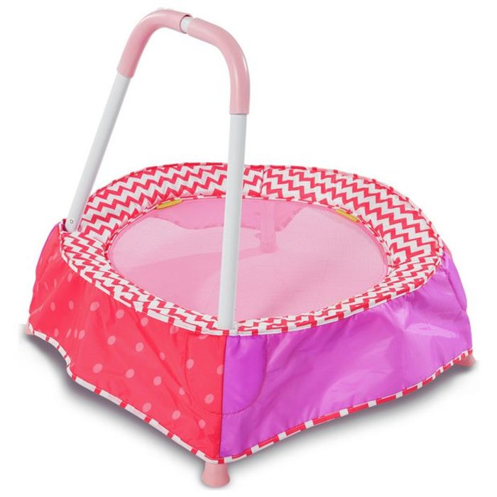 Chad Valley Indoor Toddler Trampoline - Pink