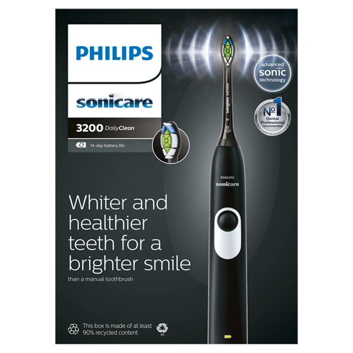 Cheap Philips Sonicare Daily Clean 3200 Black Toothbrush Only £40