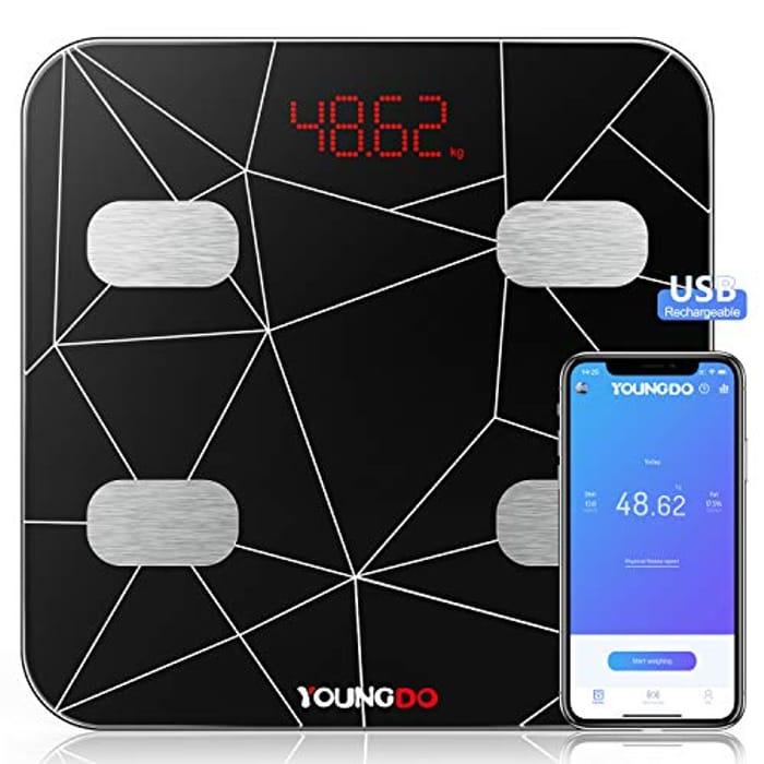 50% Off Bluetooth Body Fat Scale
