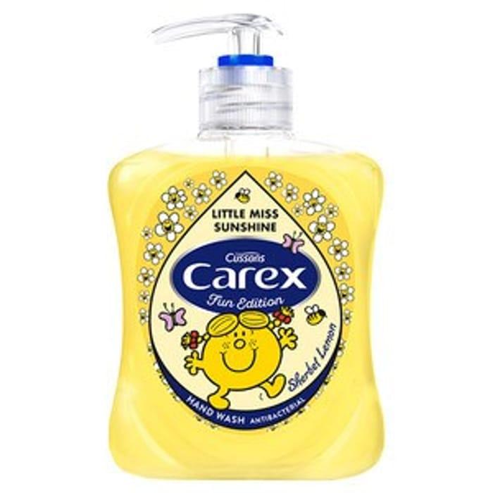 Carex Fun Editions Sherbet Lemon Handwash
