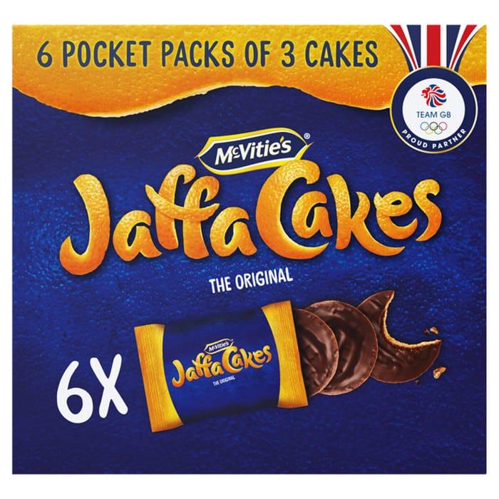 Mcvities Jaffa Cakes Pocket Packs 183G