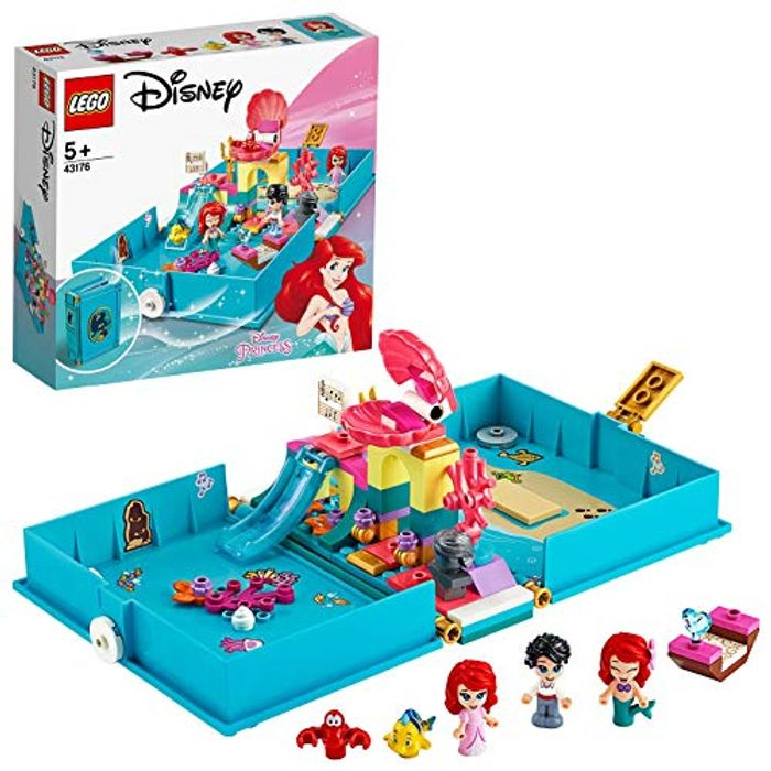 NEW! LEGO Disney Princess Ariel's Storybook Adventures - 43176
