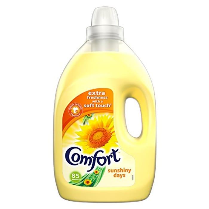 Comfort Sunshiny Days Fabric Conditioner 85 Wash (Amazon Pantry)