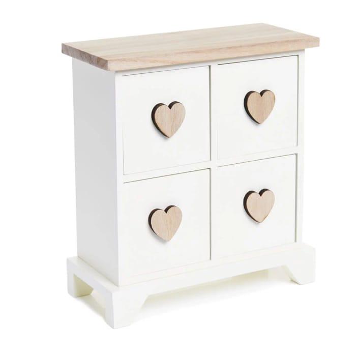 Wilko Heart Desk Drawers